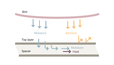 pressure ulcer microclimate management skin iq