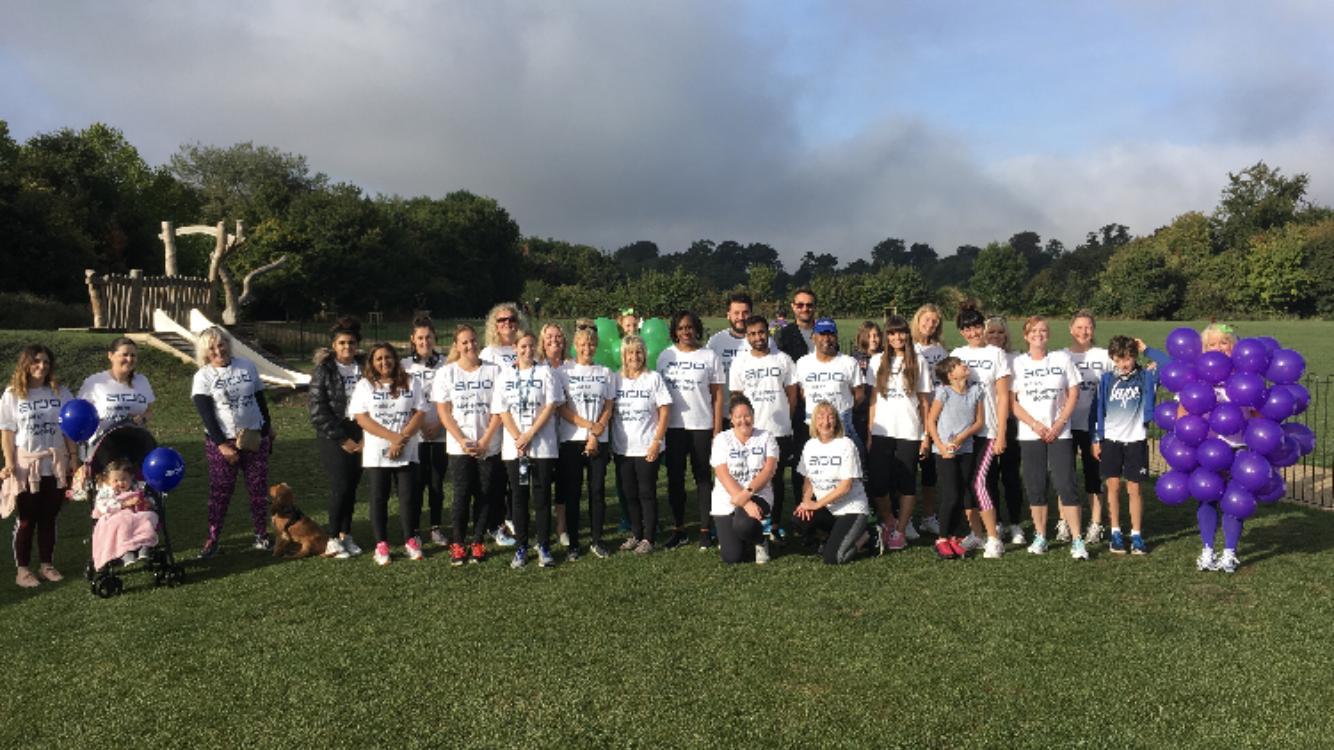 Charity walk & run in aid of Alzheimer's Society