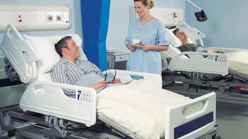 Efficient Hospital Bed Capacity