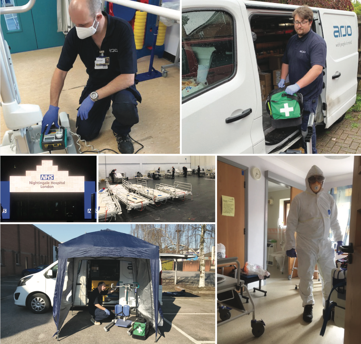 Arjo Care - Supporting our customers during the COVID-19 crisis