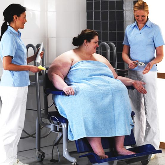 Dignified hygiene and toileting can help skin integrity in plus size people