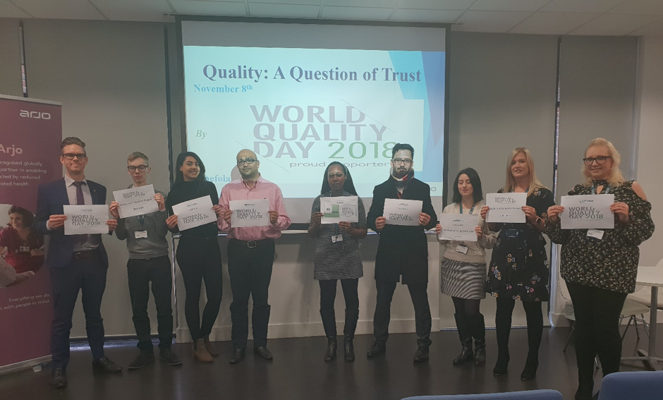Quality: A Question of Trust