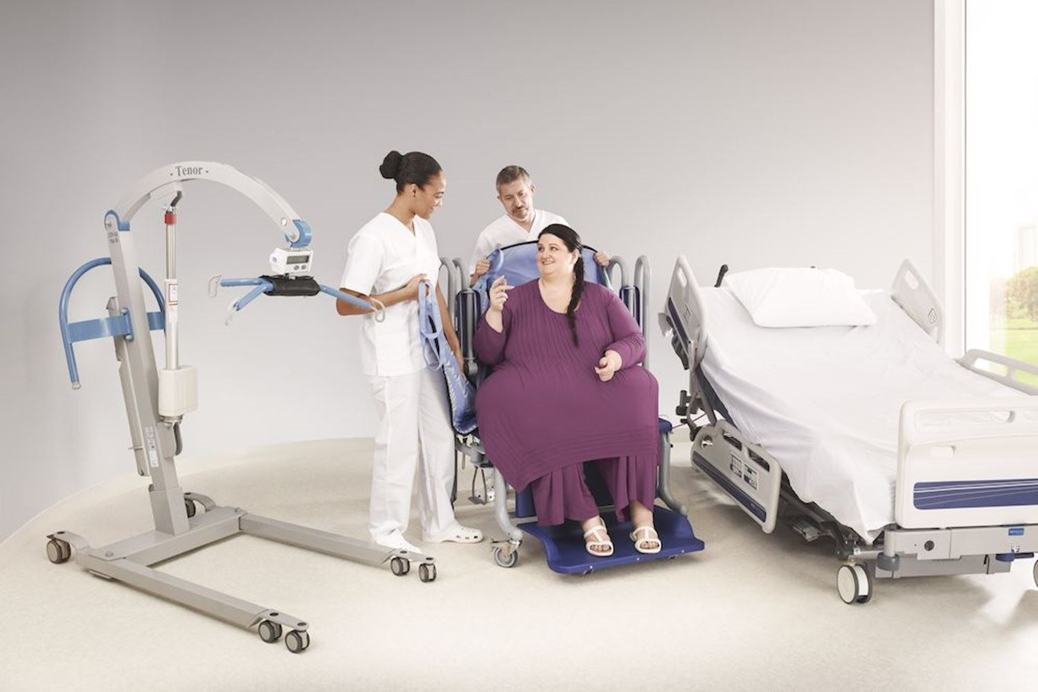 Choosing the right transfer method for plus size patients